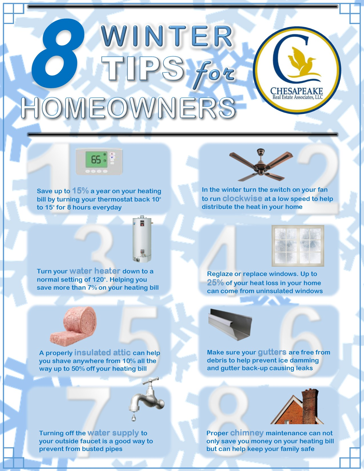 8 Winter Tips For Homeowners To Help Save